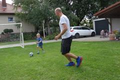 Fußball im Garten - Aktion Fotografin: Katharina
