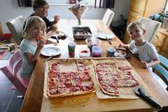 Pizza Zeit- Papas ist einfach die Beste!