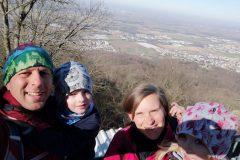 Wanderung zum Melibokus - Blick in die Ebene