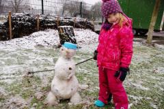 Schneemensch Selbstbau