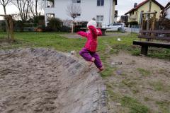 Springtraining mit Katharina
