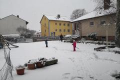 Endlich Schnee - Spaß im Home Kindergarten mit Opa