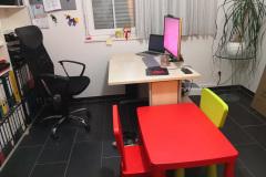 HomeOffice und HomeKindergarten Setup