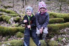 Moos Suche im Gernsheimer Wald