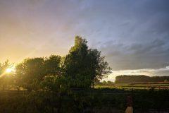 Sonnenuntergang über der Lach