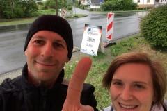WFLWR 2015 Kilometer 56 in Hähnlein