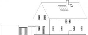 Haus Diagonalsicht