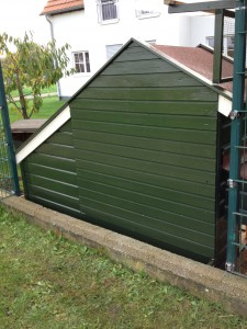 Hühnerhaus Isolation 3
