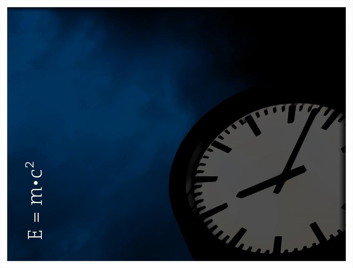 Zeit ist relativ
