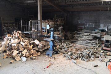 Ordentlich Holz in der Hütte